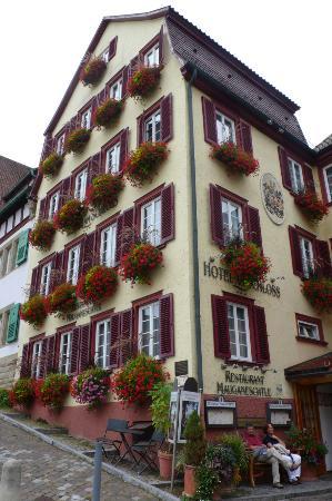 Hotel Am Schloss: В отеле ресторан,