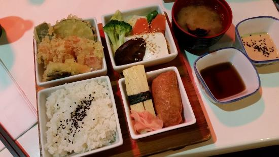 Ginga Japanese Restaurant: Vegetarian Bento