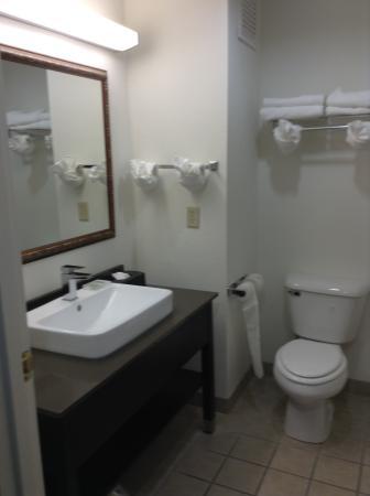 Country Inn & Suites by Radisson, Fairborn South, OH: Banheiro