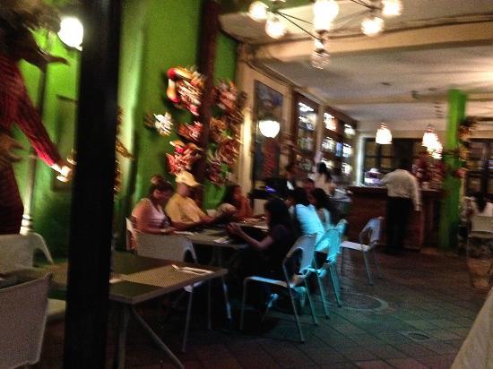 Restaurant Diablicos environment, in casco Viejo, Panamá