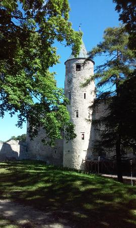 Summer Cafe of the Haapsalu Episcopal Castle