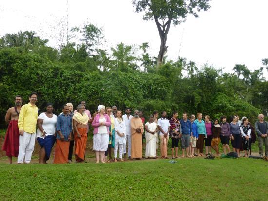 Ayurveda Yoga Villa: tous réunis