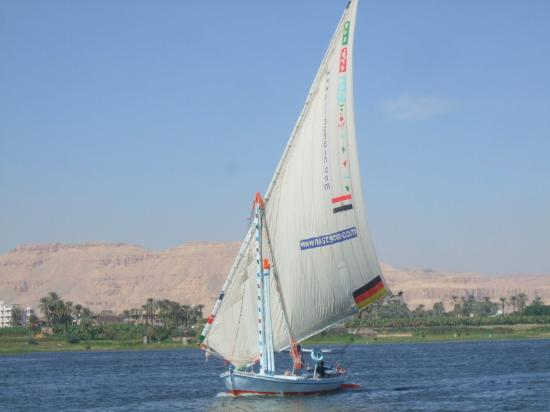 Luxor Sail the Nile