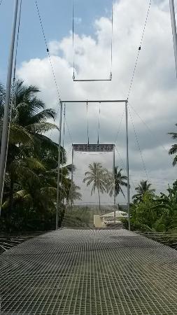 Cabarete, Dominikanska Republiken: View from under the platform