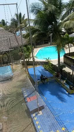 Cabarete, Dominikanska Republiken: View from catchbar