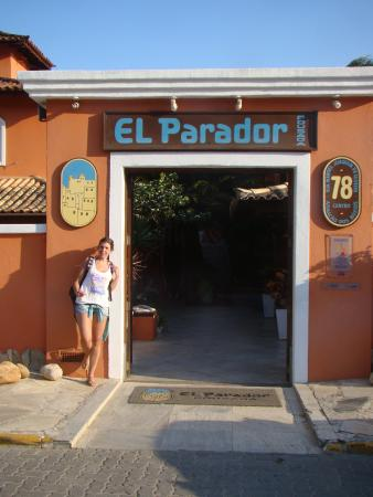 El Parador Pousada: Entrada a la Posada