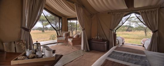 Naboisho Camp, Asilia Africa : Views from your bedroom at Naboisho Camp