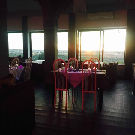 Restaurant Belle Vue: un coucher de soleil magique