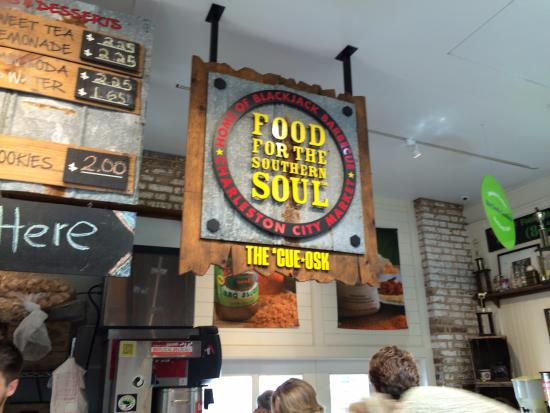 The Stand Inside the Market  - Picture of Food for the Southern Soul