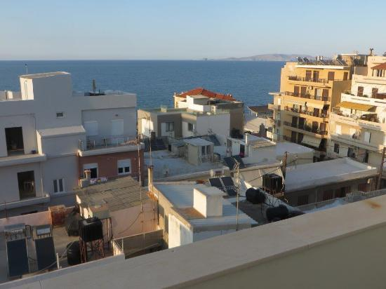 Atrion Hotel: View from balcony