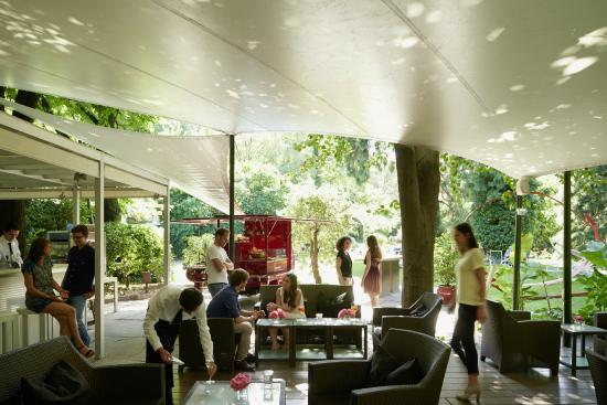 Laurin Bar : Summer Lounge Bar in the Park