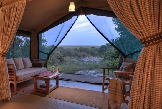 Rekero Camp, Asilia Africa: Views from your bedroom at Rekero Camp