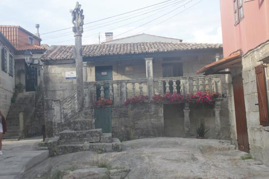 Combarro, Spain: plaza
