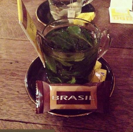 Jazzcafe de Muze : Mint tea