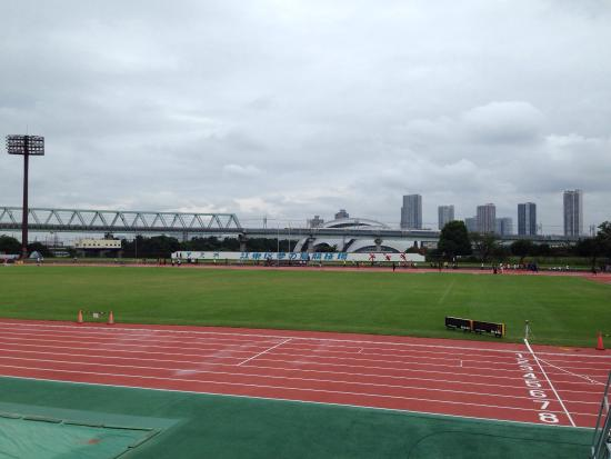 Yumenoshima Park : 陸上競技大会観戦