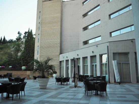 Hotel City: ホテル 中庭