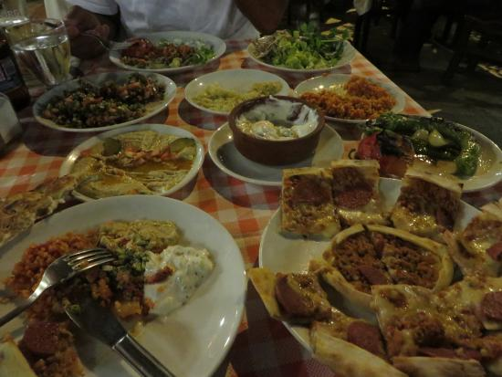 Cihan Ocakbasi: Great selection of mezelers!!!!!!!