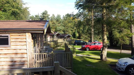 Darwin Forest Country Park: Grounds outside lodge