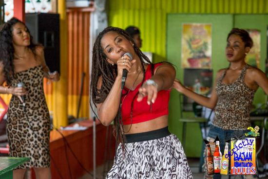 Saint Michael Parish, Barbados: Live entertainment for local artiste