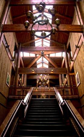 Lake Barkley Lodge Interior Of Hotel Facing Upstairs Cadiz Ky