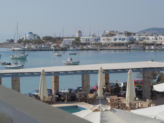 Kouros Village: View of the harbour