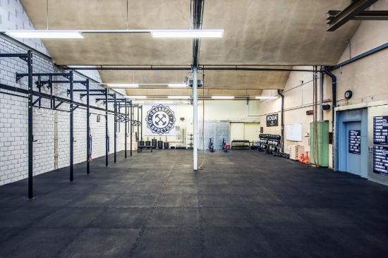 Flurlingen, Švajcarska: Trainingshalle
