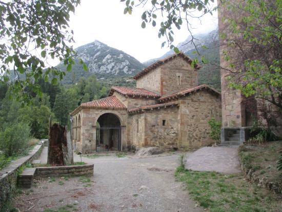 Cillorigo de Liebana, Spanien: 10e eeuws kerkje