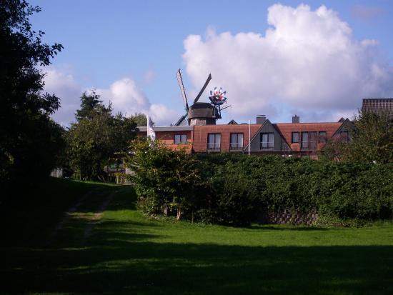 Hotel Wittensee: Blick auf das Hotel vom dazugehörigen kleinen Campingplatz