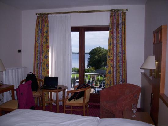 Hotel Wittensee: Aussicht vom Zimmer