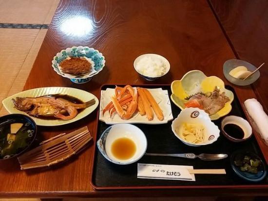 Takeso: 夕食の一例です