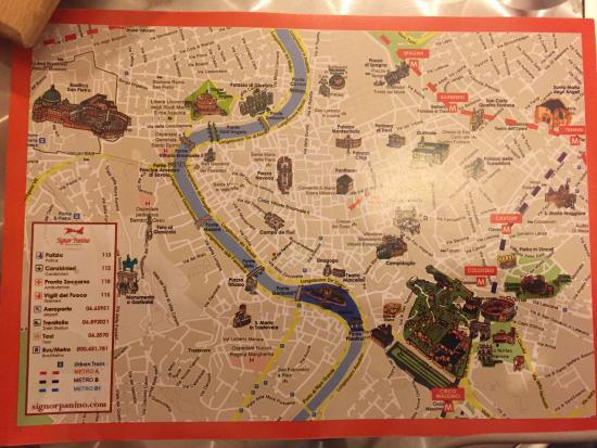 Signor Panino : Map