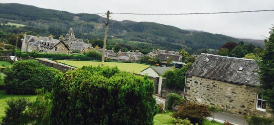 Dunmurray Lodge: The view from the rooms at the front of the guest house