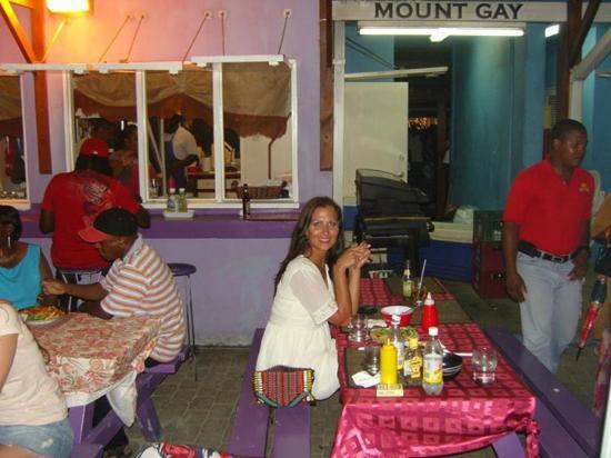 Saint Michael Parish, Barbados: Drinks and food