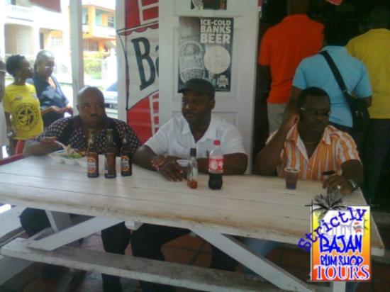 Saint Michael Parish, Barbados: pull up and grab a glass