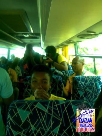 Saint Michael Parish, Barbados: All on board!!