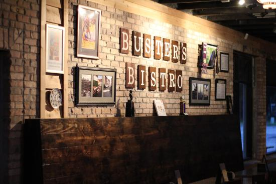 Buster's Bistro Belgian Bar : The Wall of Fame