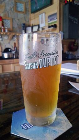 Buster's Bistro Belgian Bar : Saison for summertime