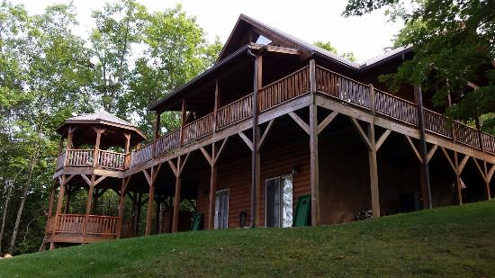 Lands Creek Log Cabins: Eagles Nest