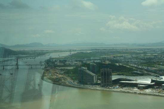 Macau-Taipa Bridge: view from macau tower