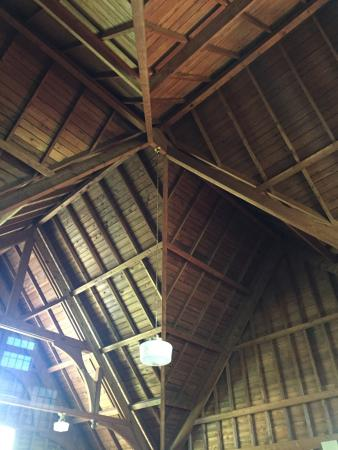 Islesford, ME: the ceiling is beautiful too