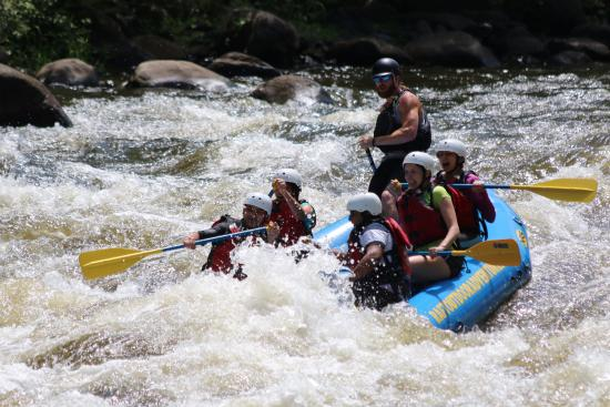 Ocoee, TN: rafting fun