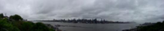 Boulevard East: Beautiful (Pano) view of Manhattan Skyline from Blvd East, Weehawken