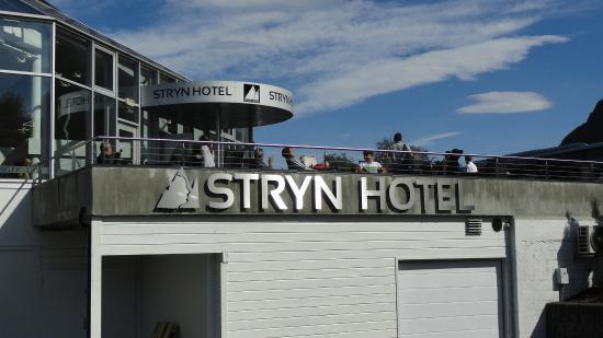 Stryn Hotel: Fachada do Hotel