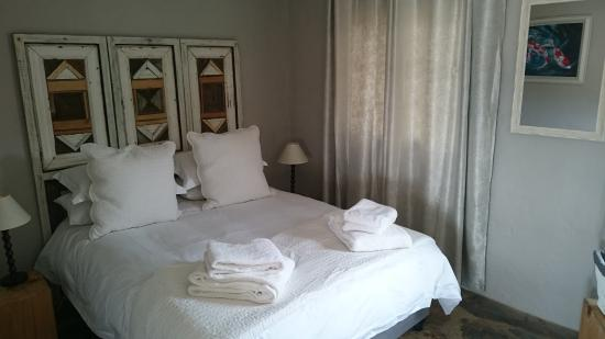 Springwater Cottages: We are about sleep: Excellent mattresses and Ember Down Goose Down duvets.