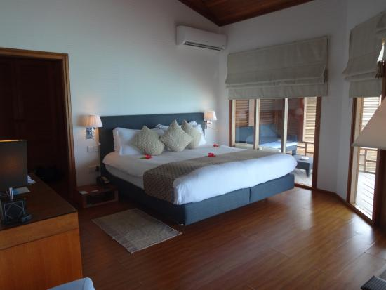 Kuramathi: Room - Water villa with jacuzzi