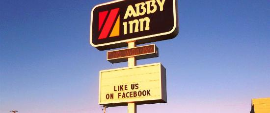 Abbotsford, WI: Abby Inn Sign
