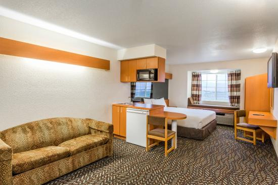 Microtel Inn & Suites by Wyndham Salt Lake City Airport: King Suite Non-Smoking