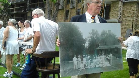Aurora Historical Society & Hillary House: Lawn tennis as it was in 1913