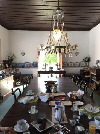 Ourem, Portugal: breakfast room