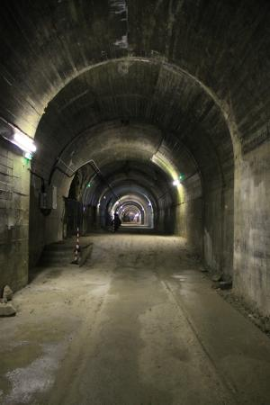 Forteresse de Mimoyecques : The rail tunnel